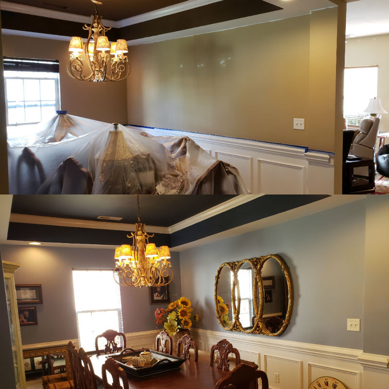 high point interior painting and wall repair
