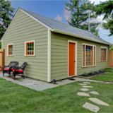 Freshly Painted House - Exterior Painting