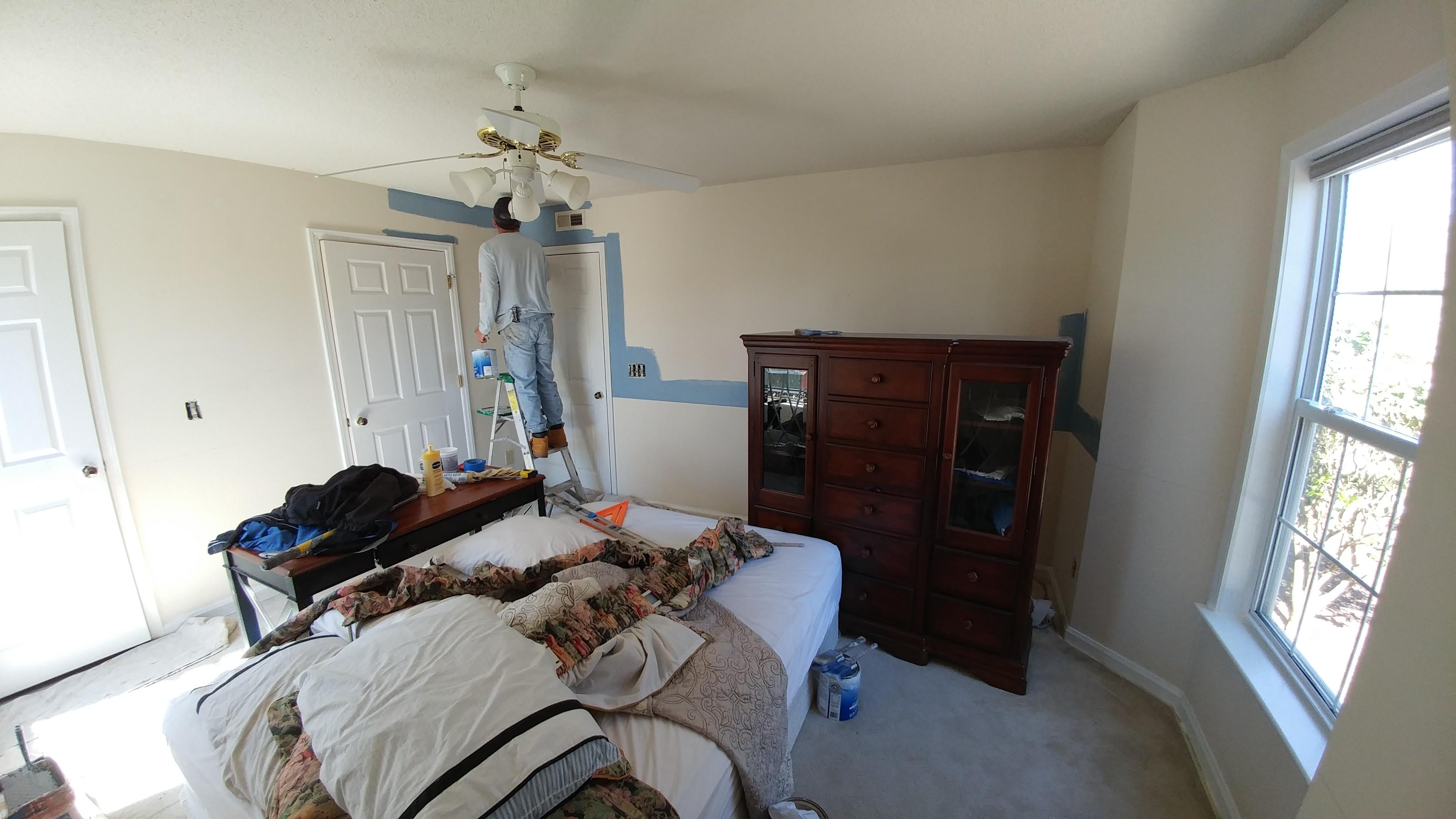 Bedroom Painting In Greensboro Nc Greensboro Painters