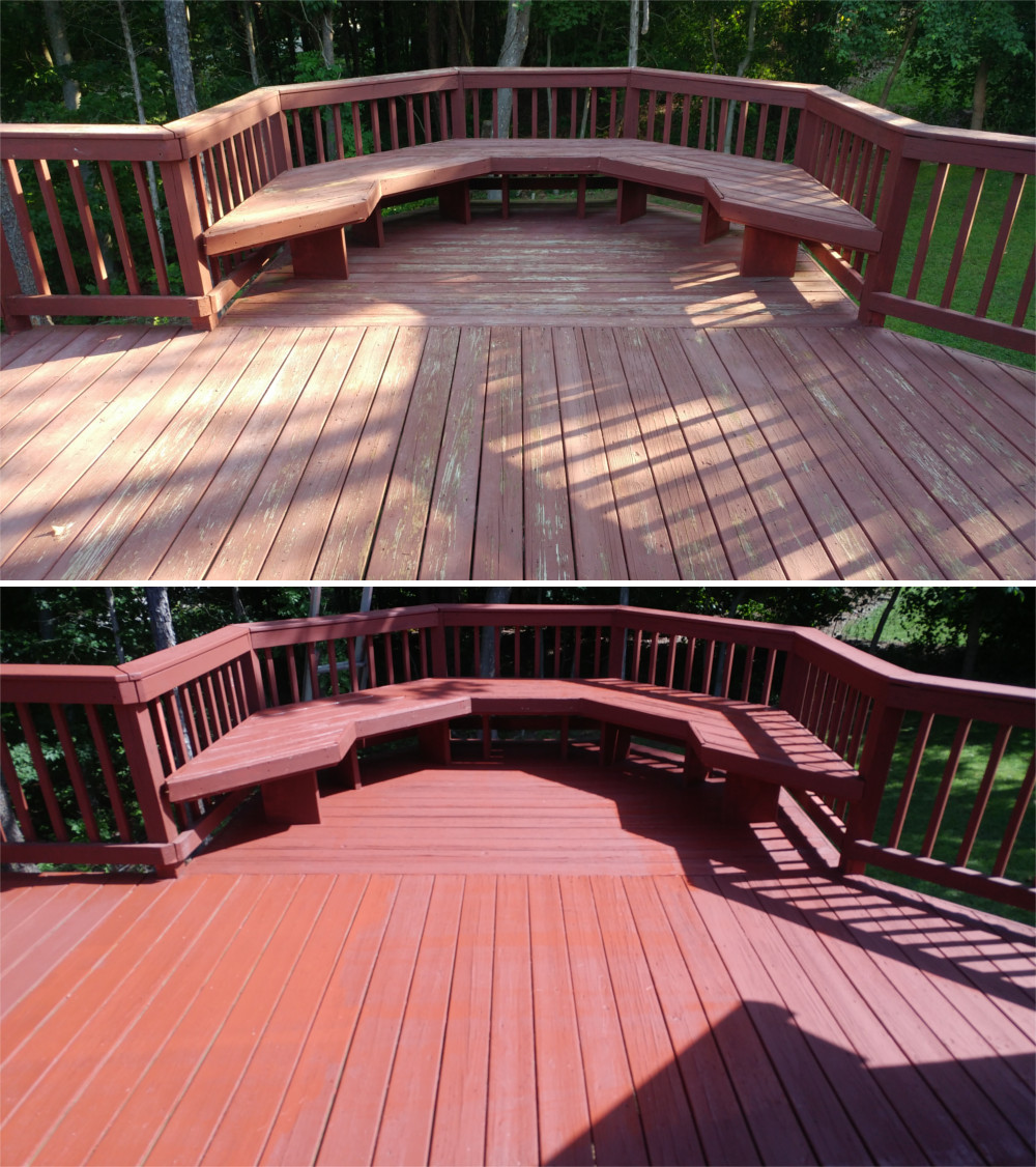 deck restain in High Point, NC