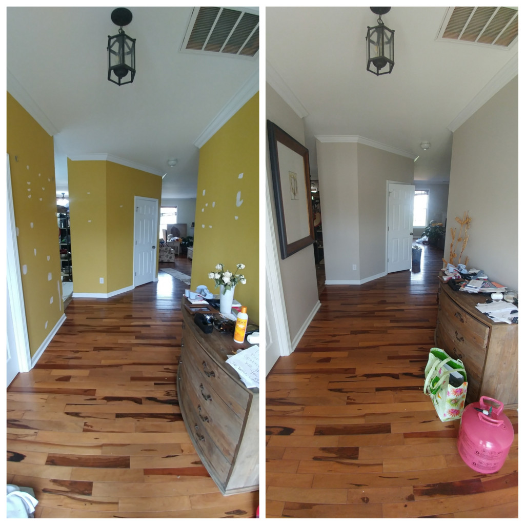 . First Floor Full Interior Painting   High Point  NC