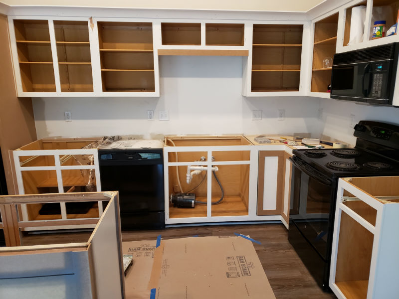 Greensboro Kitchen Cabinet Painting