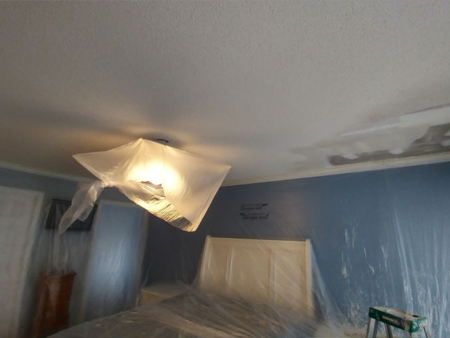 Greensboro Popcorn Ceiling