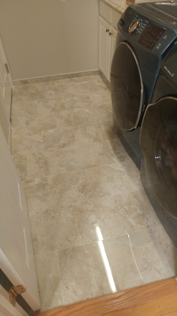 marble floor install in greensboro