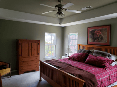 Master Bedroom Painting in High Point, NC | Gio\'s Pro Painting